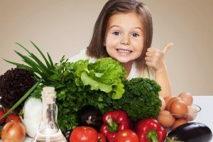 Top five healthy foods for kids